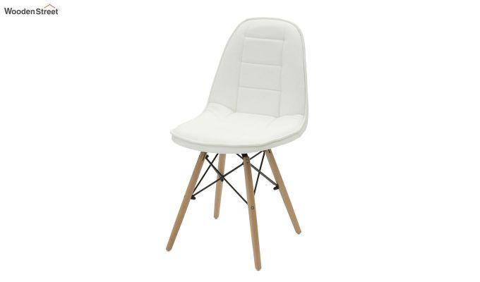 Eames Replica Cushioned Verdi Iconic Chair (White)-5
