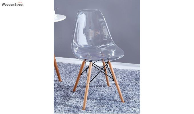 Modern Eames Mid Century Transparent Iconic Chair-1