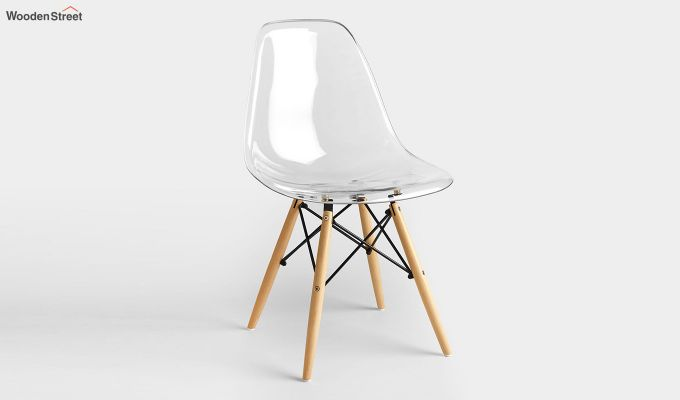 Modern Eames Mid Century Transparent Iconic Chair-2