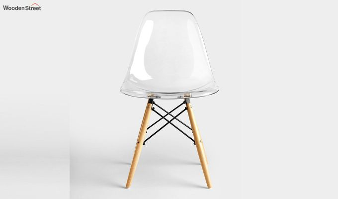 Modern Eames Mid Century Transparent Iconic Chair-3