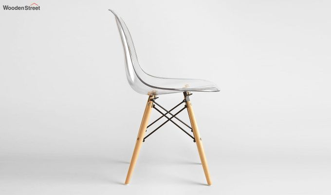 Modern Eames Mid Century Transparent Iconic Chair-4