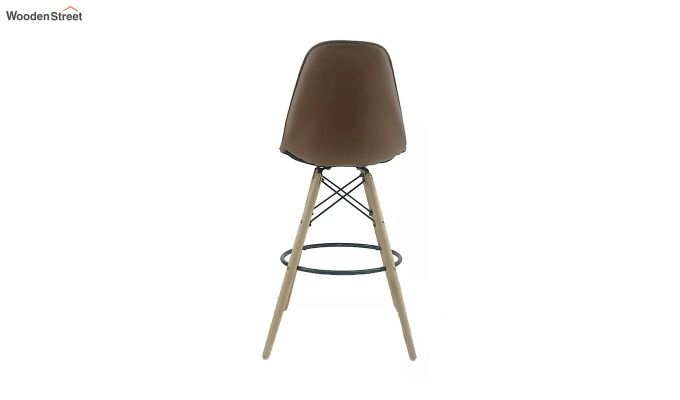 Scandinavian Style Eames DSW Natural Wood Iconic Chair (Brown)-4