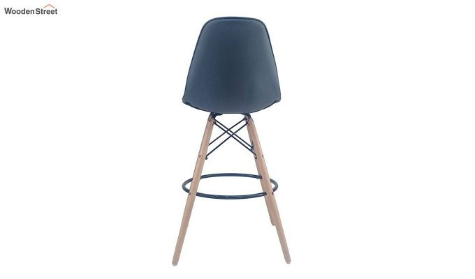 Scandinavian Style Eames DSW Natural Wood Iconic Chair (Grey)-4