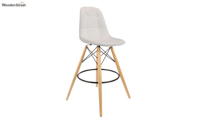 Scandinavian Style Eames DSW Natural Wood Iconic Chair (White)-1