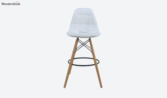 Scandinavian Style Eames DSW Natural Wood Iconic Chair (White)-3