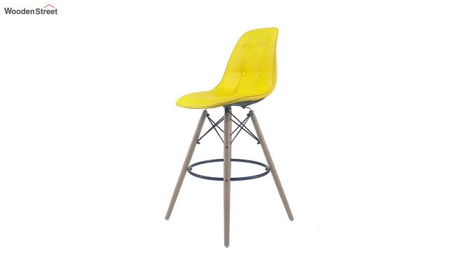 Scandinavian Style Eames DSW Natural Wood Iconic Chair (Yellow)-2