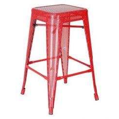 Alba Iron Stool (Red)