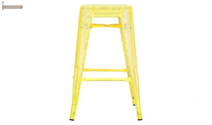 Alba Iron Stool (Yellow)-2
