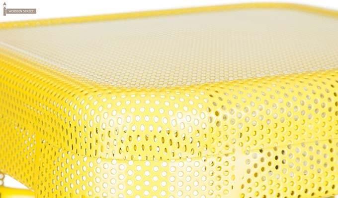 Alba Iron Stool (Yellow)-3