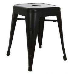Billy Iron Stool (Black)