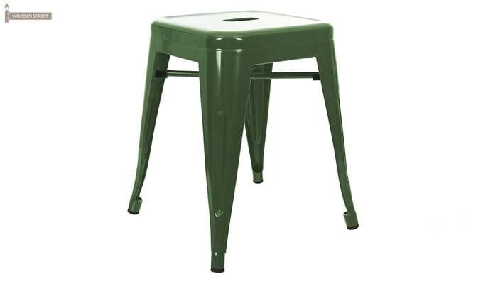Billy Iron Stool (Green)-1