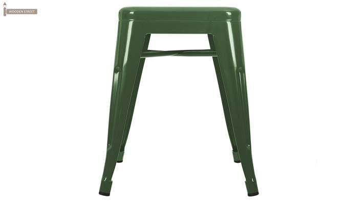 Billy Iron Stool (Green)-2