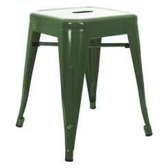 Billy Iron Stool (Green)