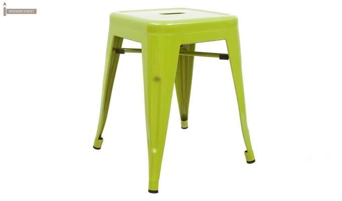 Billy Iron Stool (Light Green)-1