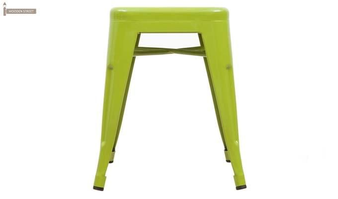 Billy Iron Stool (Light Green)-2