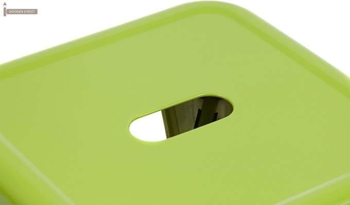 Billy Iron Stool (Light Green)-3