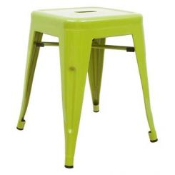 Billy Iron Stool (Light Green)