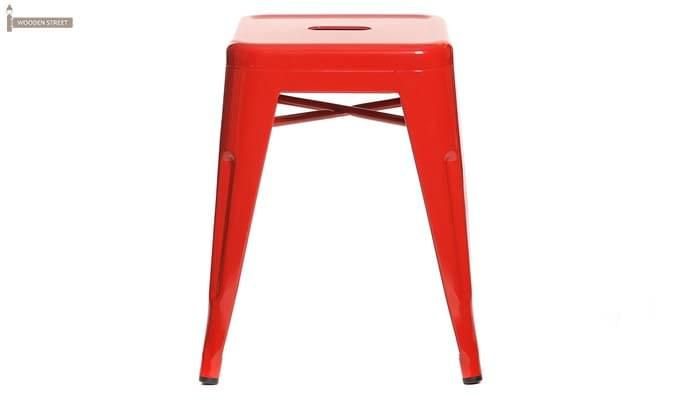 Billy Iron Stool (Red)-2