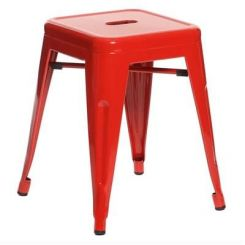 Billy Iron Stool (Red)