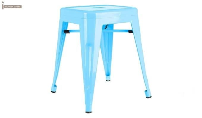 Billy Iron Stool (Sky Blue)-1