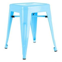 Billy Iron Stool (Sky Blue)