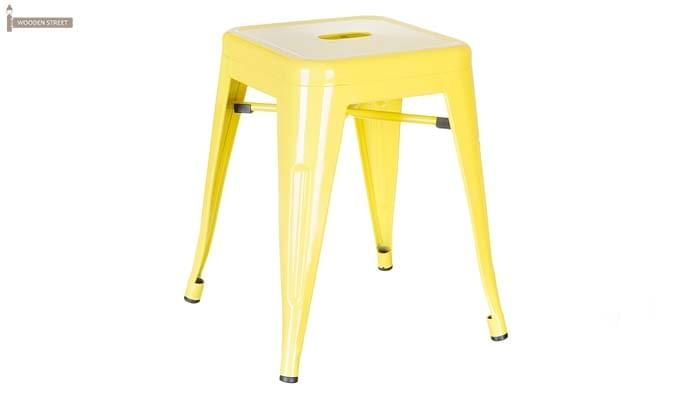 Billy Iron Stool (Yellow)-1