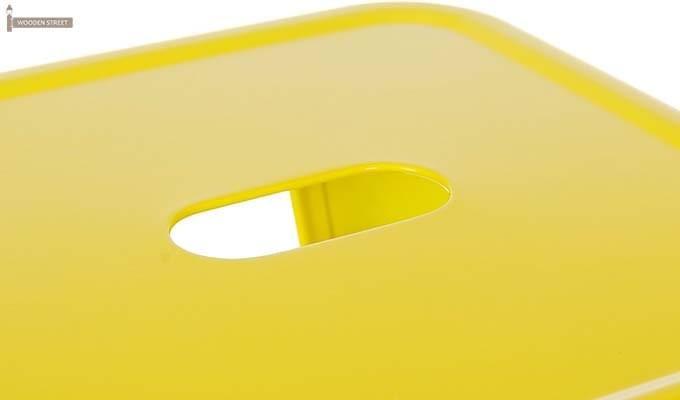 Billy Iron Stool (Yellow)-3