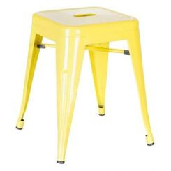 Billy Iron Stool (Yellow)