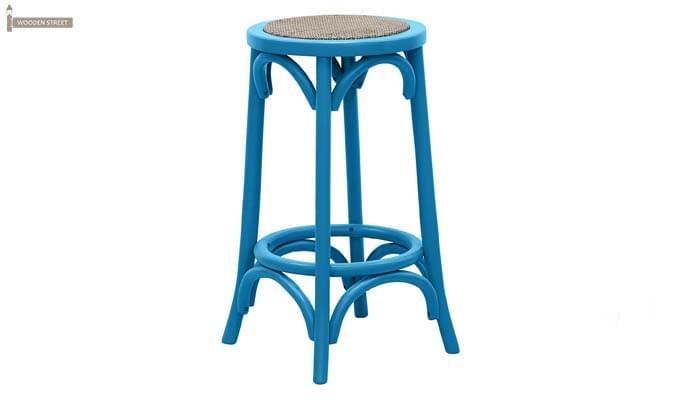 Flint Iron Stool (Blue)-1