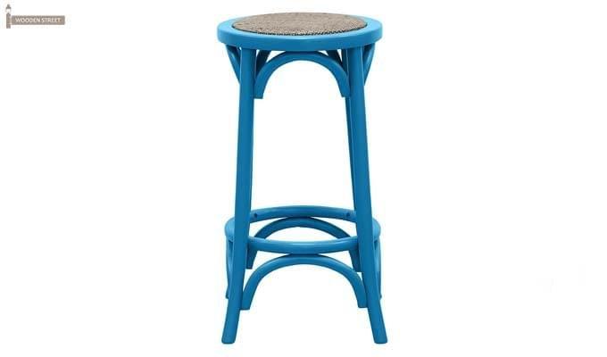 Flint Iron Stool (Blue)-2