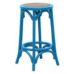 Flint Iron Stool (Blue)