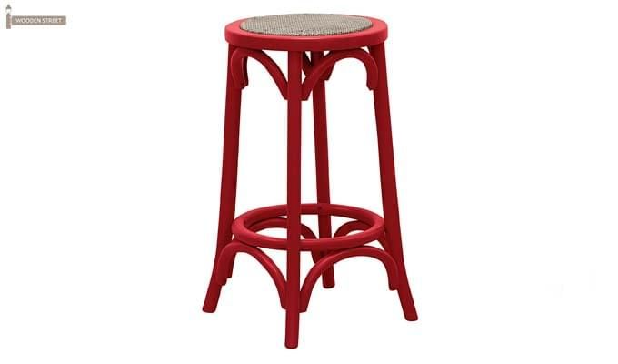 Flint Iron Stool (Red)-1