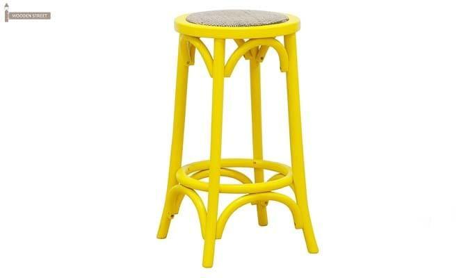 Flint Iron Stool (Yellow)-1