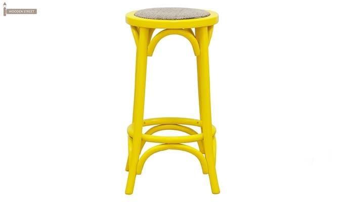Flint Iron Stool (Yellow)-2