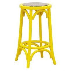 Flint Iron Stool (Yellow)
