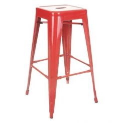 Rhine Iron Stool (Red)