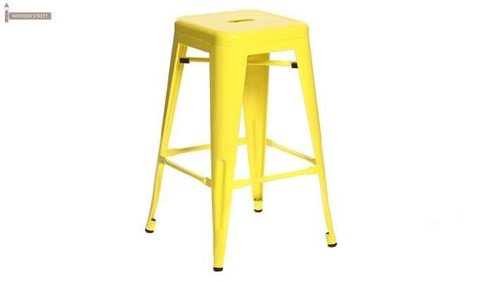 Rhine Iron Stool (Yellow)-1