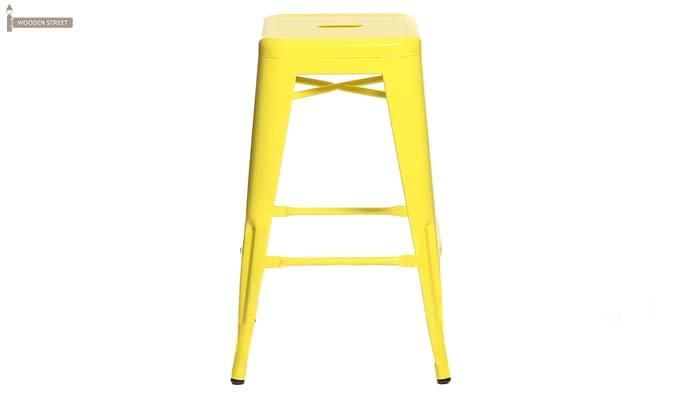 Rhine Iron Stool (Yellow)-2