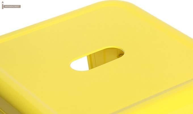 Rhine Iron Stool (Yellow)-3