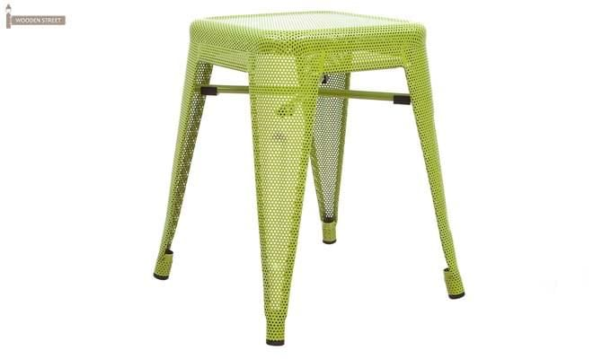 Ursula Iron Stool (Green)-1