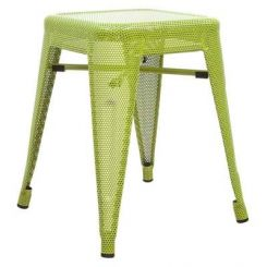 Ursula Iron Stool (Green)