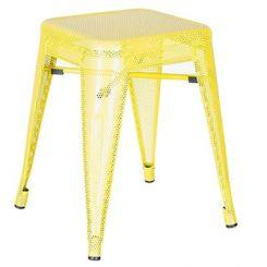 Ursula Iron Stool (Yellow)