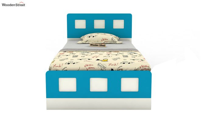 Blueberry Kids Bed With Storage (Celestial Blue)-3