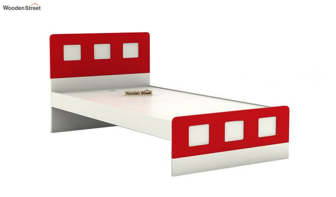 Blueberry Kids Bed Without Storage (Cardinal Red)-4