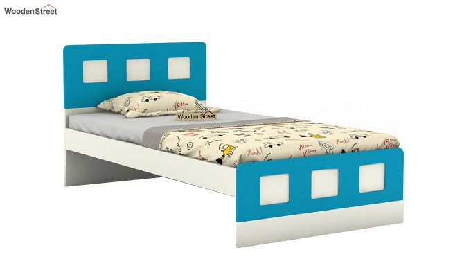 Blueberry Kids Bed Without Storage (Celestial Blue)-2