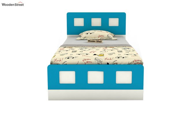 Blueberry Kids Bed Without Storage (Celestial Blue)-3