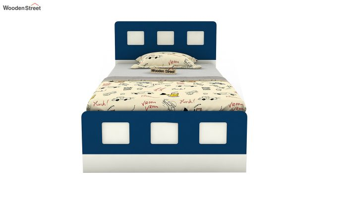 Blueberry Kids Bed Without Storage (Electric Blue)-3