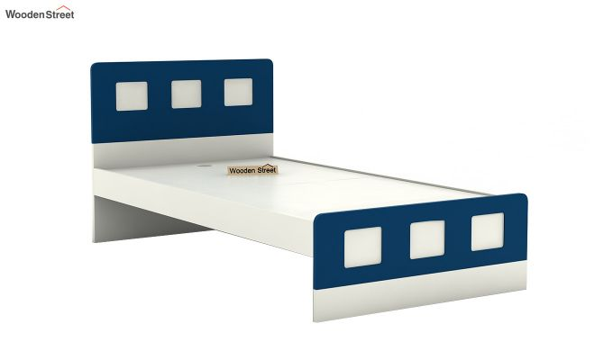 Blueberry Kids Bed Without Storage (Electric Blue)-4