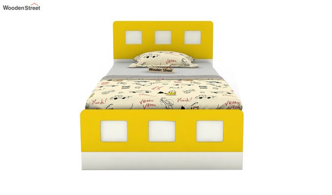 Blueberry Kids Bed Without Storage (Marigold Yellow)-3