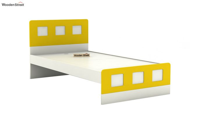 Blueberry Kids Bed Without Storage (Marigold Yellow)-4